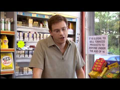Everything about this comedy sketch is just perfect - That Mitchell and Webb Look: Corner shop