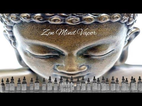 Zen Mind Vapor Review-E-Liquid Enlightenment!-VapingwithTwisted420