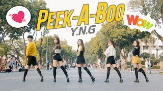 Video [ KPOP IN PUBLIC ] Red Velvet 레드벨벳 '피카부 Peek-A-Boo - Dance cover by YNG MP3, 3GP, MP4, WEBM, AVI, FLV Februari 2018