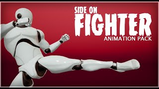 Side on Fighter - Animation Pack
