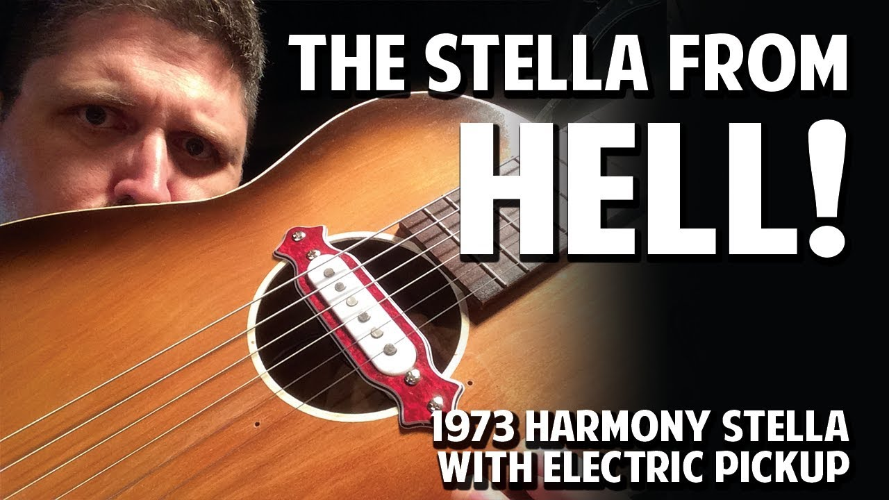 Bombastic Electrified Stella Acoustic Guitar – What's the Deal with Speal Episode 4