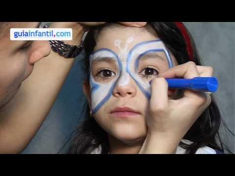 Maquillage des enfants. Papillon