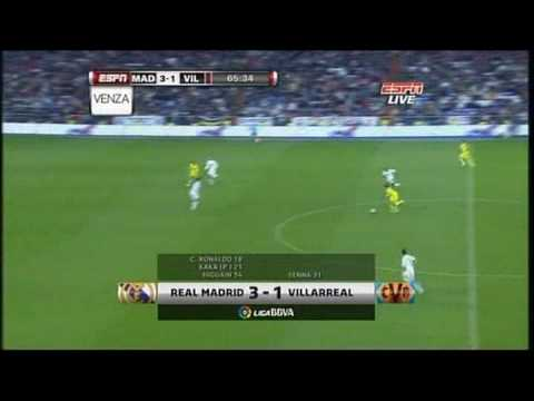 Video Real Madrid v Villarreal 6-2 (21/02/2010) Full Highlights download in MP3, 3GP, MP4, WEBM, AVI, FLV January 2017