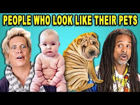 Funny photos - 10 PHOTOS OF PEOPLE WHO LOOK LIKE THEIR PETS w/ ADULTS (React)