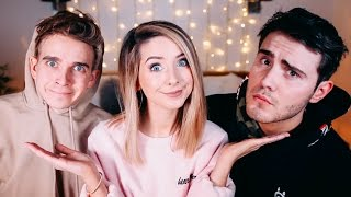 Video Boyfriend VS Brother Part 2!  | Zoella MP3, 3GP, MP4, WEBM, AVI, FLV Juli 2018
