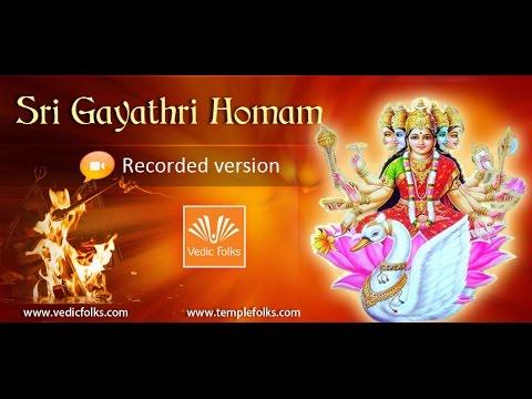 Sri Gayathri Homam (видео)