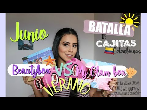 BEAUTYBOX VS MY GLAMBOX ♥JUNIO♥