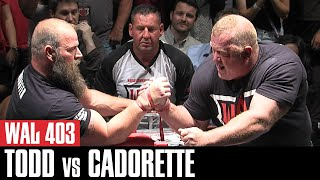 Video WAL 403: Jerry Cadorette's Epic Matchup Against Michael Todd MP3, 3GP, MP4, WEBM, AVI, FLV Desember 2018