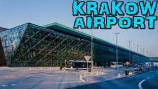 Balice Poland  City pictures : Krakow Balice Airport Poland 4K