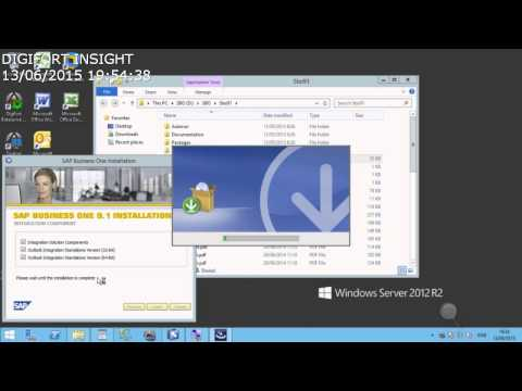 SAP Business One 9.10.105 - How to setup (Part 07 of 17)