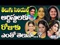 Top Telugu TV Serial Actresses Remuneration Per Day | Small Screen Actresses | Top Telugu Tv
