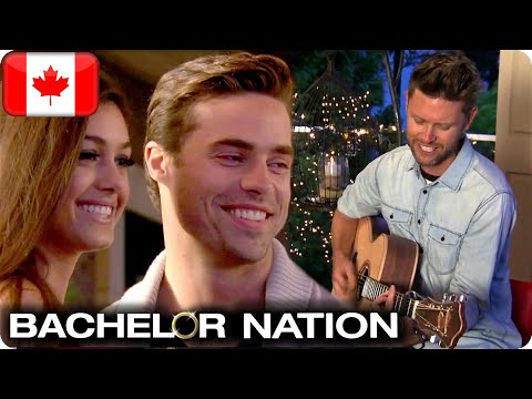 Andrew Allen Serenades Tim And April | The Bachelor CA