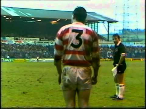 Wigan v Hull KR - 1986 John Player Trophy Final