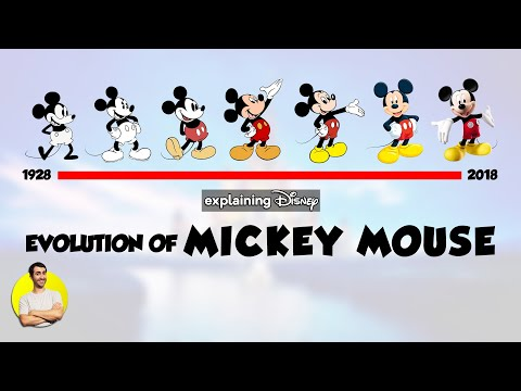 Evolution of MICKEY MOUSE Over 90 Years (1928-2018) Explained
