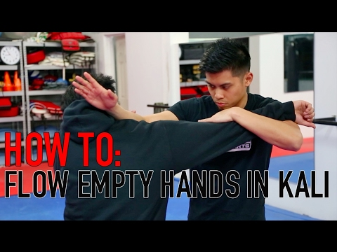 HOW TO FLOW EMPTY HANDS IN KALI | TECHNIQUE TUESDAY