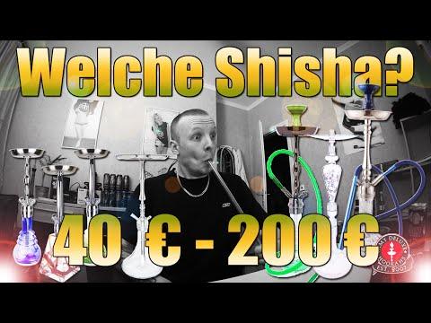 WELCHE SHISHA KANN ICH EMPFEHLEN? 40 € - 200 € // Edelstahl, Glas- und normale Wasserpfeifen