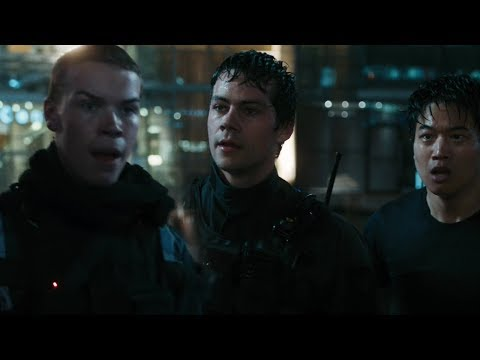 Gally saves Thomas, Newt and Minho [The Death Cure]
