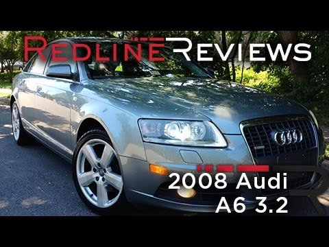 2008 Audi A6 3.2 Review, Walkaround, Exhaust & Test Drive
