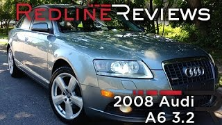 2008 Audi A6 3.2 Review, Walkaround, Exhaust&Test Drive