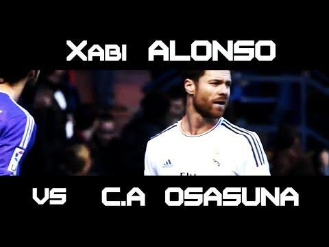Xabi Alonso vs Osasuna Away ( 14.12.2013 - 14/12/2013 . 14-12-2013 ) [HD] (видео)