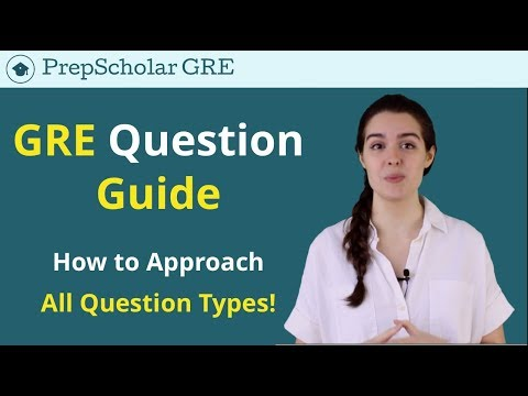 GRE Question Types | PrepScholar's Master Guide