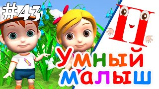 Умный малыш #43. Развивающий мультфильм для малышей