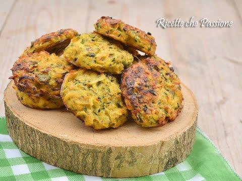 rosti di patate e zucchine al forno - ricetta