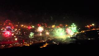 Fireworks at my window ...