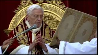 Pope Presides Over Mass at St. Peter's Basillica