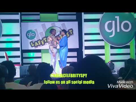 Bovi, Mercy Johnson and Kanayo O kanayo had a Romantic stage play  So Humorous