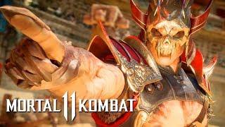 Mortal Kombat 11 - Official Shao Kahn Gameplay Reveal Trailer by GameSpot