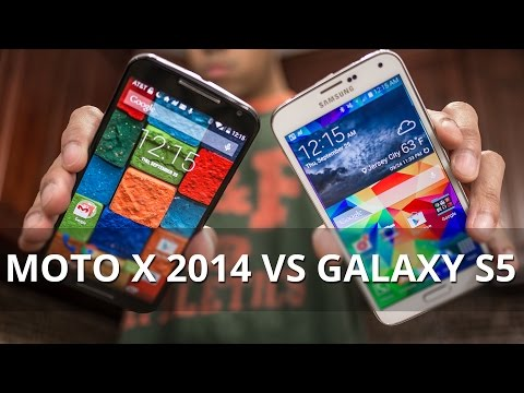 samsung - For more details, check out our web site: http://www.phonearena.com/reviews/Motorola-Moto-X-2014-vs-Samsung-Galaxy-S5_id3807 Now that Motorola's flagship phone for 2014 is finally out, it's...