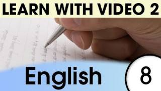 English Expressions and Words for the Classroom 1, Learn English with Video