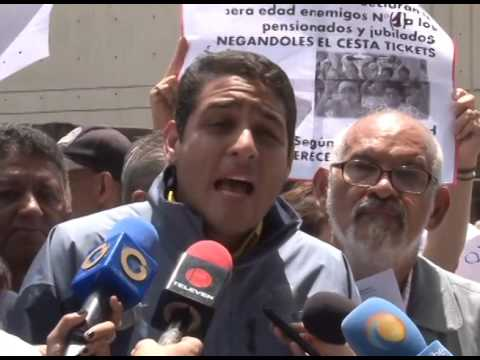 José Manuel Olivares: exigimos al TSJ que promulgue la Ley de bono de alimentación y medicamentos para Jubilados y pensionados