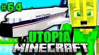 ICH mache EINE WELTREISE?! - Minecraft Utopia #064 [Deutsch/HD] Video