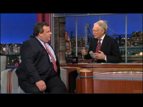 Christie Is Awesome on Letterman
