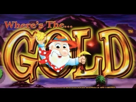 WHERE'S THE GOLD : MAX BET - HUGE WIN - ARISTOCRAT