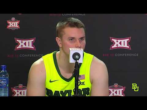 Baylor Basketball (M): Postgame Press Conference vs. Iowa State