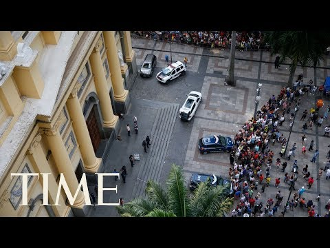 Gunman Kills 4 People And Then Himself After Opening Fire In Brazil Cathedral After Mass | TIME