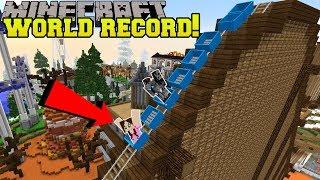 Video Minecraft: FASTEST ROLLER COASTER EVER!!! - HERO FAIR [1] MP3, 3GP, MP4, WEBM, AVI, FLV Juli 2018