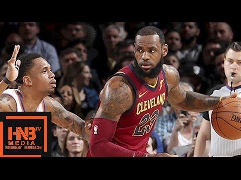 Cleveland Cavaliers vs New York Knicks Full Game Highlights / April 9 / 2017-18 NBA Season