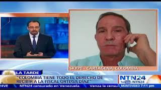Suscríbase a nuestro canal en YouTube: http://tinyurl.com/NTN24VENEZUELA Fernando Araújo Perdomo, exministro de...