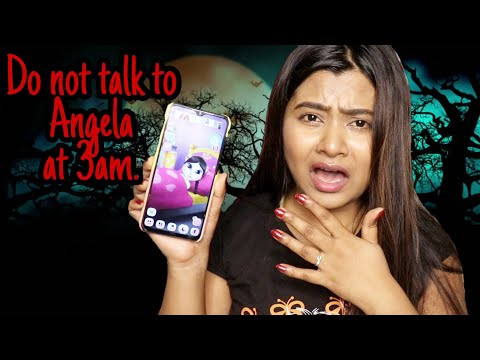 Do Not talk to *ANGELA* AT 3am challenge   RIA