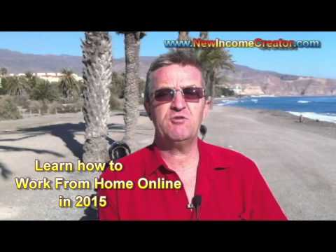 Learn How To Work From Home Online 2015