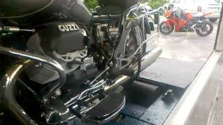 10. Dyno run on 2003 Moto Guzzi California Titanium