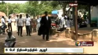 6 accused in the granite case including PRP Granites owner Palanisamy at the Melur Court
