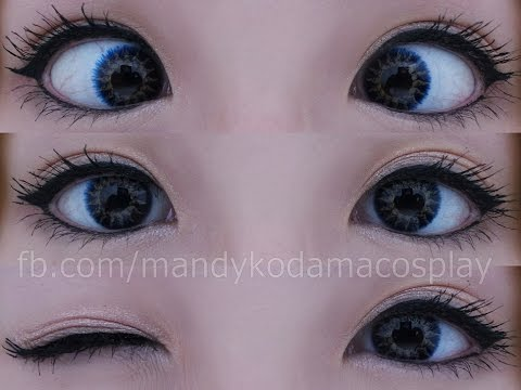 REVIEW: Contact Lenses - Flash Glam Blue (Sponsored by Uniqso)
