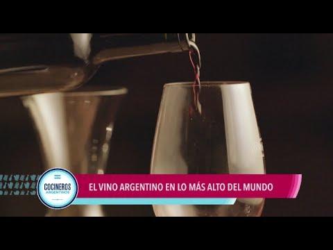 El vino argentino en la más alto del mundo