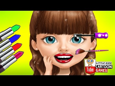 Fun Baby Girl Care. Cooking Gameplay. Makeover Hair Salon Manicure Learn Colors Kids Games.