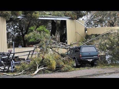 Στο σκοτάδι ολόκληρη η πολιτεία της Νότιας Αυστραλίας λόγω κακοκαιρίας